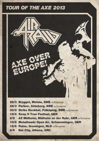 AIR RAID - Tour 2013