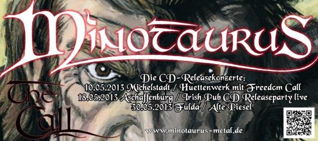 MINOTAURUS - The Call  CD-Releasekonzerte