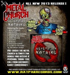 Metal Church flyer