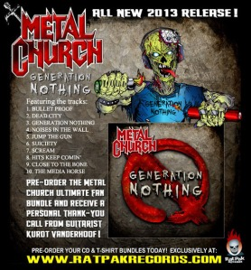 Metal Church flyer